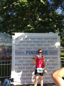 My first half marathon post hip surgery